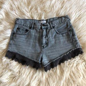Free People Denim Shorts W 27